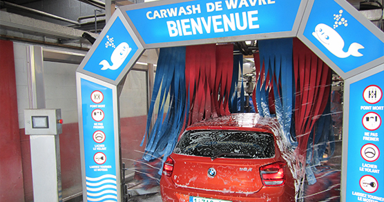 bmw tunnel carwash de wavre