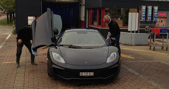 mc laren garee car wash wavre belgique